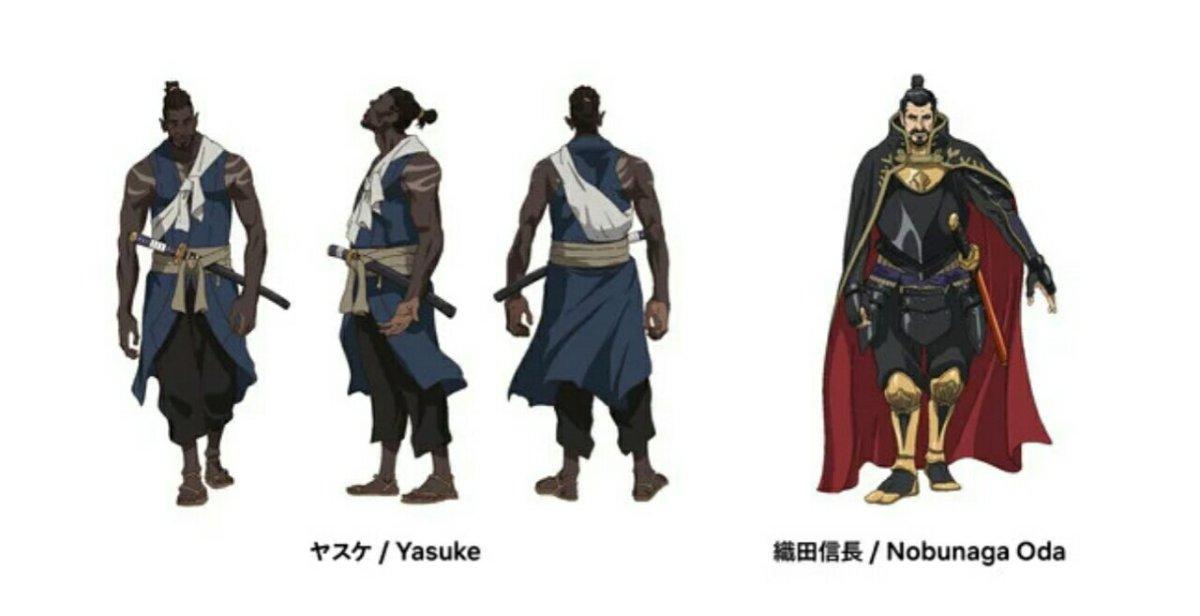 Anime Yasuke Merilis Trailer dan Visual Baru 3