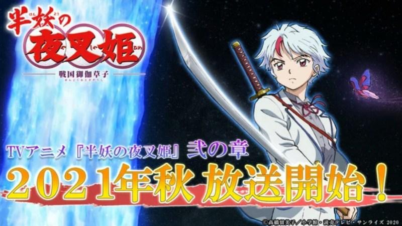 Part II dari Anime TV Yashahime: Princess Half-Demon Akan Tayang Perdana pada Musim Gugur 1