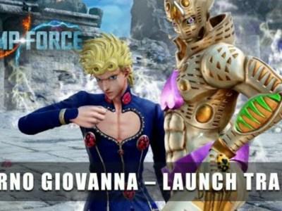 Trailer DLC Game Jump Force Mengungkapkan Peluncuran Giorno pada 13 April 24