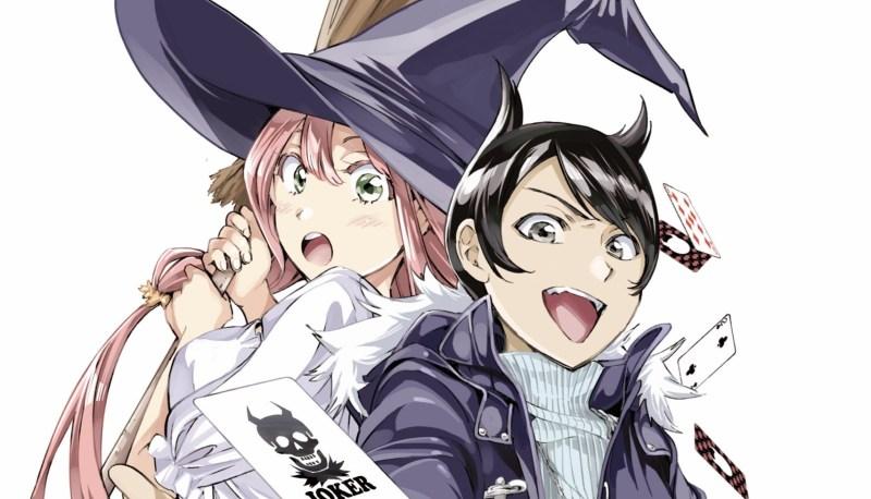 Manga Majou no Sasageru Trick Karya Shizumu Watanabe Akhirnya Tamat 1