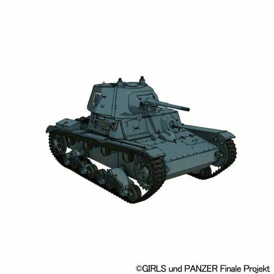 Teaser Film Girls & Panzer das Finale Ke-4 Ditayangkan 4