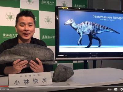 Penemuan Fosil Dinosaurus Spesies Baru di Pulau Awaji Jepang 27