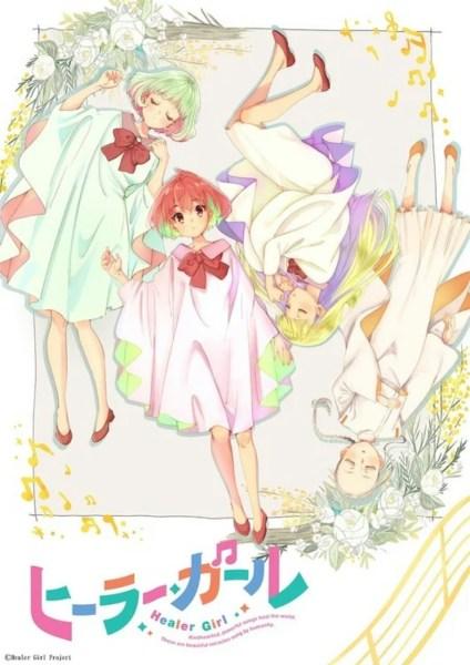Yasuhiro Irie dan Studio 3Hz Membuat Anime TV Healer Girl 1