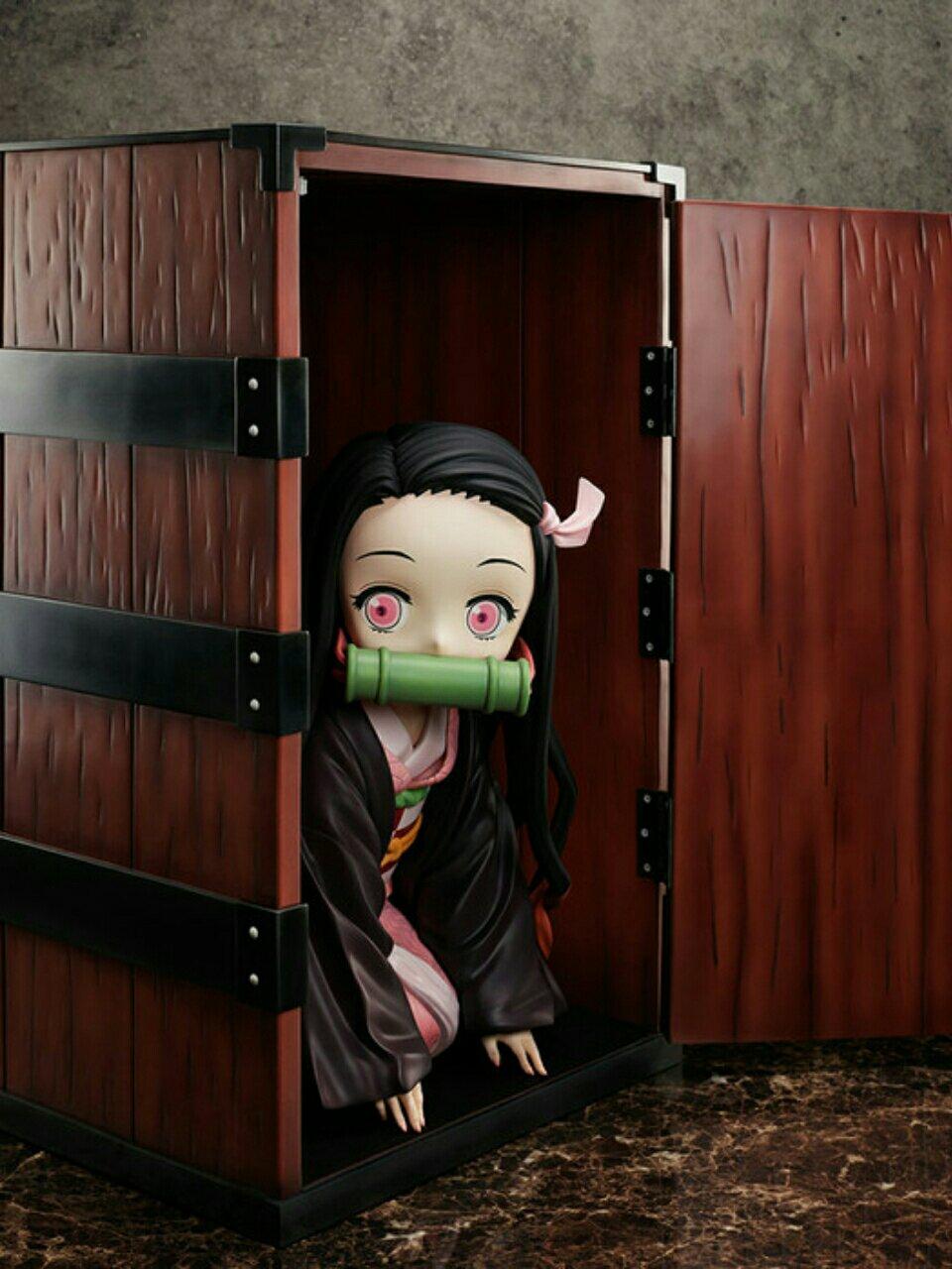 Figurin Nezuko Skala Besar yang Muat Masuk ke Dalam Kotak Tanjiro Segera Hadir Tahun Depan 3