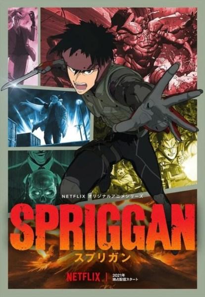 Anime Spriggan dari Netflix Mengungkapkan Staf Lainnya dan Visual Baru 1