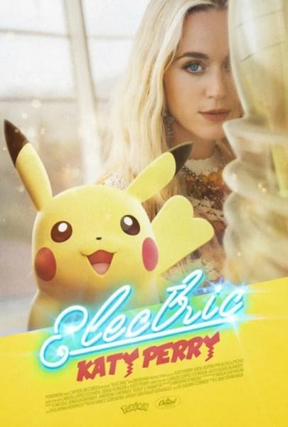 Katy Perry dan Pikachu Membintangi Video Musik yang Memperingati Ulang Tahun Ke-25 Pokémon 1
