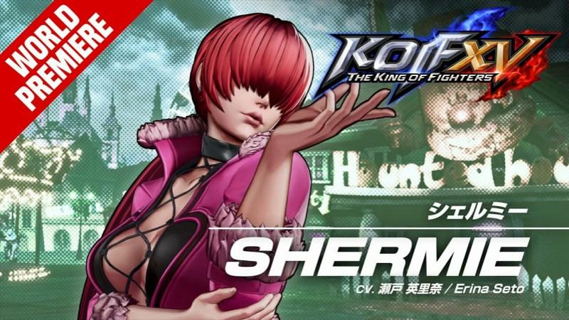 Game King of Fighters XV Mengungkapkan Trailer untuk Shermie 1