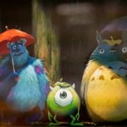 Twitter Studio Ghibli Mengepos Gambar Crossover Monsters Inc. & My Neighbor Totoro 7