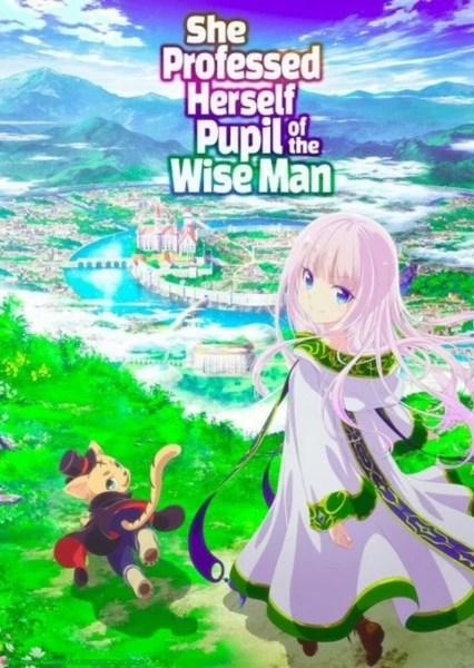 Anime She Professed Herself Pupil of the Wise Man Menambahkan 2 Anggota Seiyuu 1