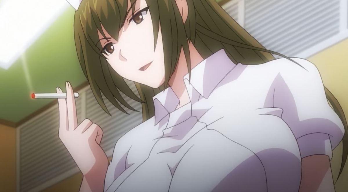Gadis Perawat Dengan Ekpresi Jijik Kan Merawatmu Dengan Penuh Kasih Dalam Anime Sakusei Byoutou 20