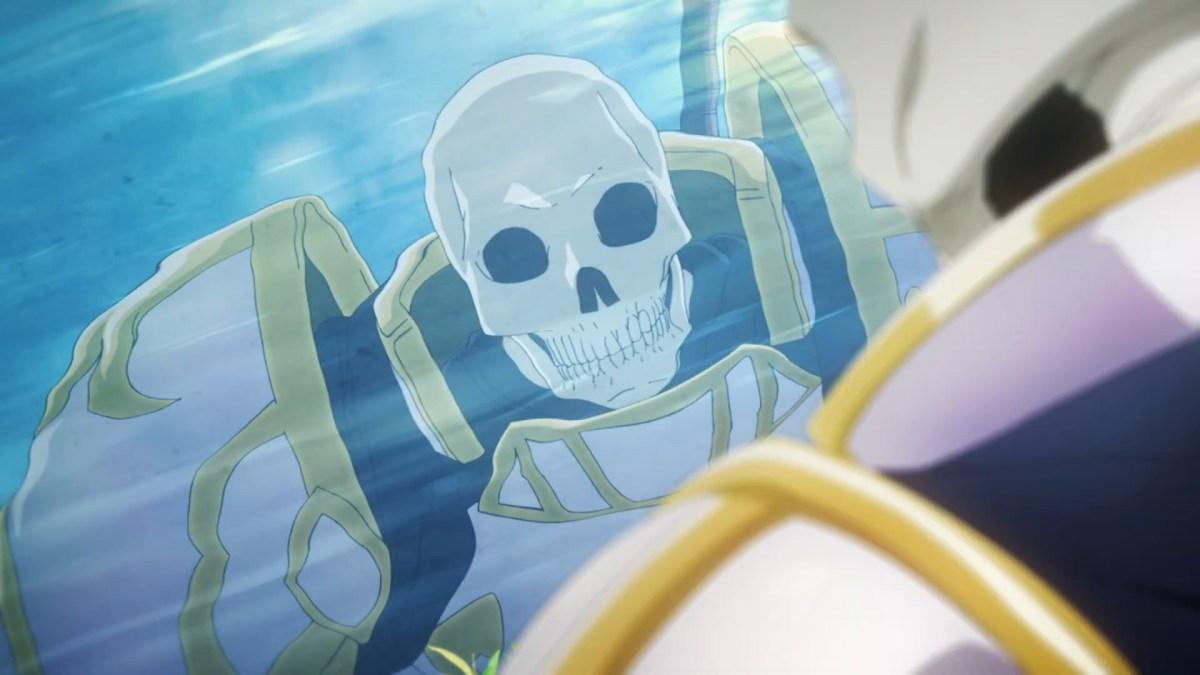 Skeleton Knight in Another World Tampilkan Cuplikan Gadis Dalam Bahaya Dalam Trailernya 13