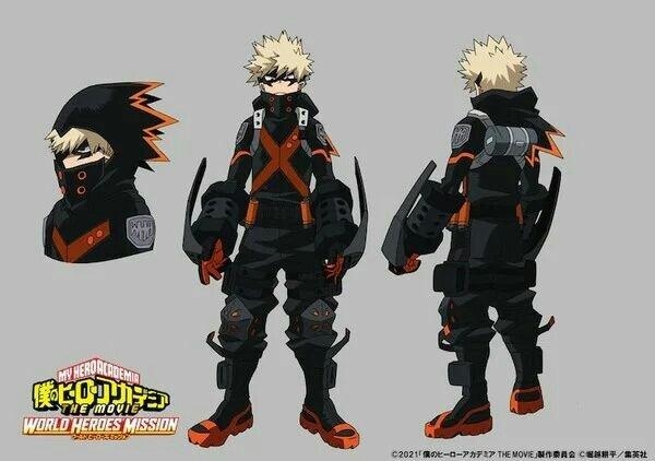 Anime My Hero Academia The Movie: World Heroes' Mission Mengungkapkan Desain Stealth Suit 3