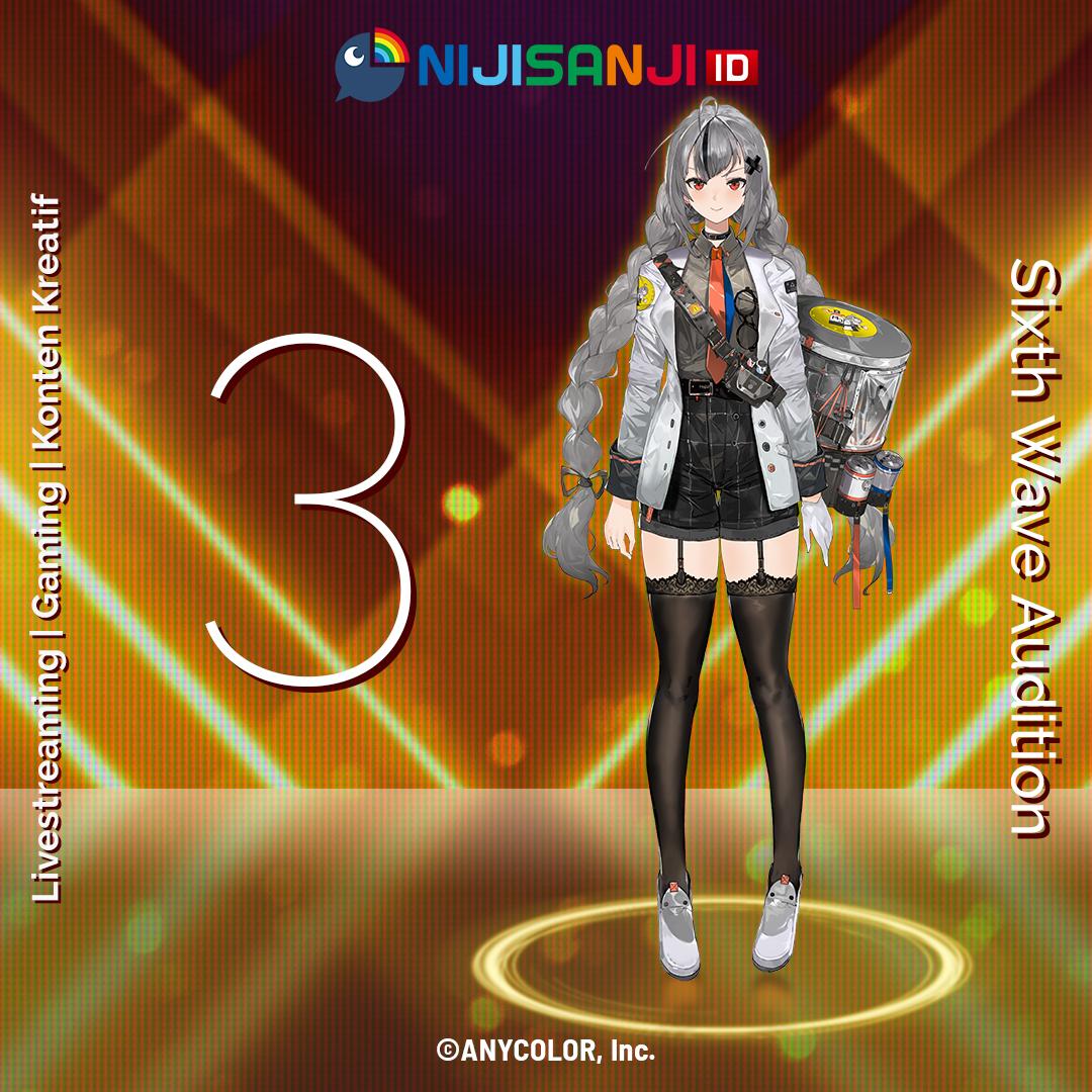 Audisi keenam Virtual Liver NIJISANJI ID Dibuka, Let's dive into virtual world together!   4