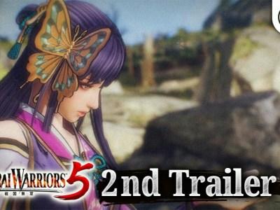 Trailer Game Samurai Warriors 5 Mengungkapkan Karakter Baru 1