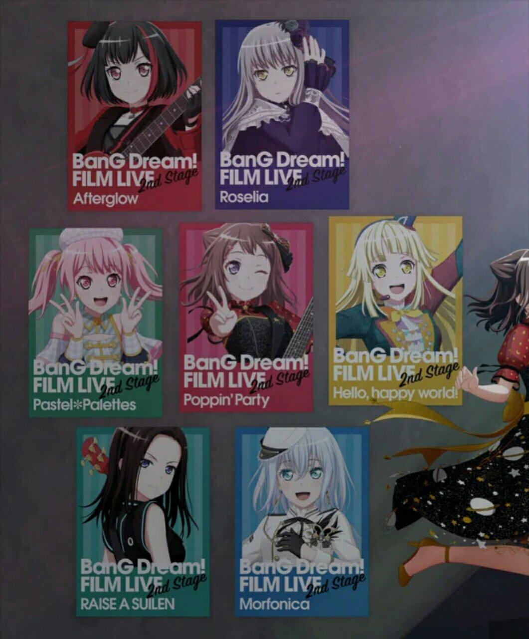 Film Anime BanG Dream! FILM LIVE 2nd Stage Mengepos Video Promosi Baru yang Lebih Panjang 2