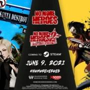 Game No More Heroes dan No More Heroes 2 Akan Dirilis untuk PC via Steam pada Tanggal 9 Juni 16