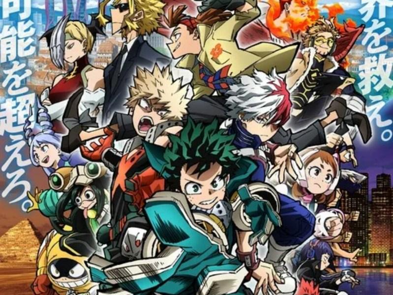 Anime My Hero Academia The Movie: World Heroes' Mission Mengungkapkan Visual Baru 1
