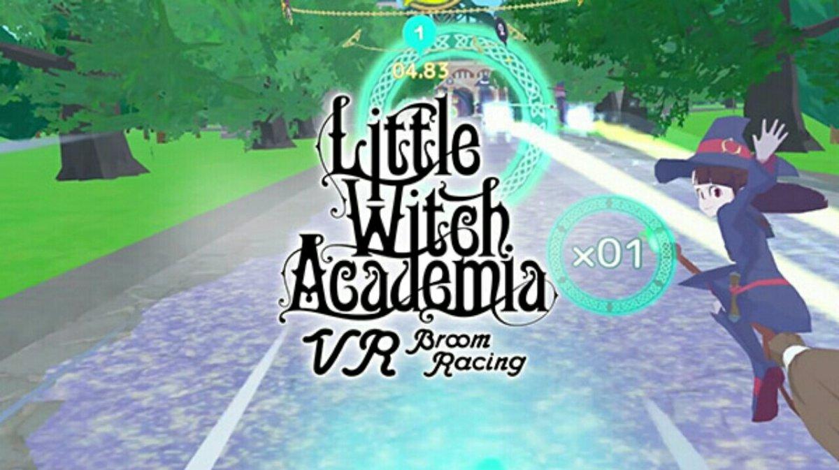 Game VR Little Witch Academia Akan Diluncurkan untuk PSVR, Oculus Rift, SteamVR pada Bulan Juli 2