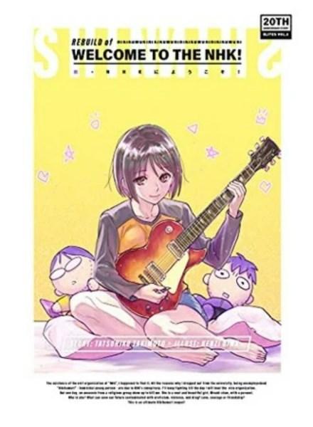 Novel Sekuel Rebuild of Welcome to the NHK Akan Dirilis dalam Bahasa Inggris 1
