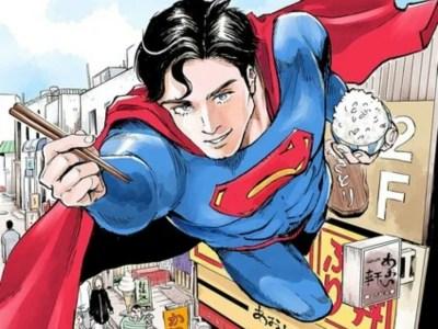 Superman Mendapatkan Manga Penyantapan di Majalah Evening Milik Kodansha 1