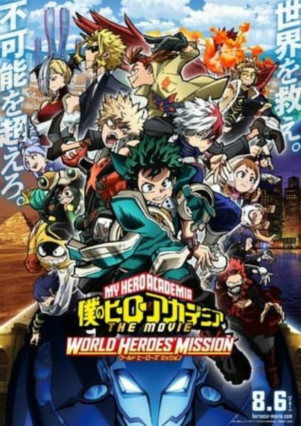 Film My Hero Academia World Heroes' Mission Mendapatkan Novel 1