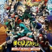 Film My Hero Academia World Heroes' Mission Mendapatkan Novel 9