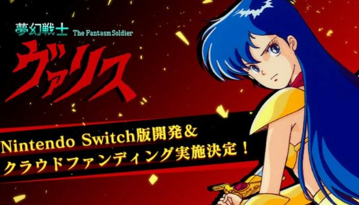 Edia Mengumumkan Urun Dana untuk Versi Switch Game Valis 41
