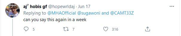 Duh, Akun Twitter Resmi My Hero Academia Diserang Oleh Para Pemuja K-Pop 3