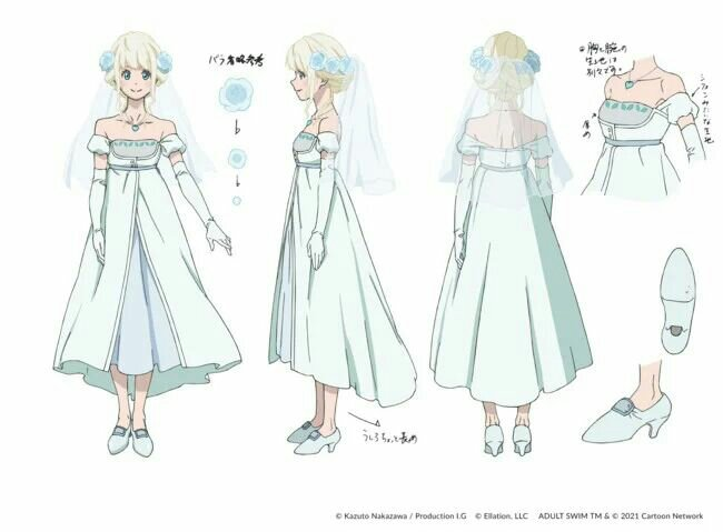 Crunchyroll dan Adult Swim Mengungkapkan Banyak Informasi tentang Fena: Pirate Princess (Kaizoku Ōjo) 4
