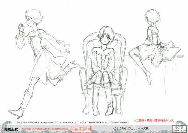 Crunchyroll dan Adult Swim Mengungkapkan Banyak Informasi tentang Fena: Pirate Princess (Kaizoku Ōjo) 18