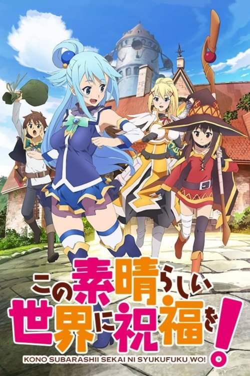 Serial Novel Ringan Konosuba akan Mendapatkan Adaptasi Anime Terbaru 1