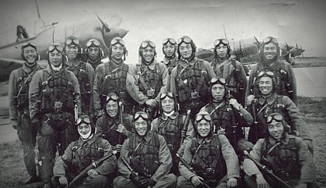 Pasukan kamikaze, Jepang