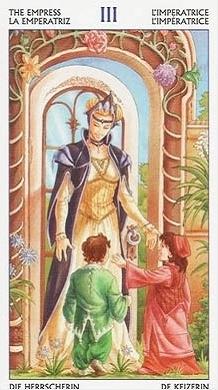 Tarot of the 78 doors III THE EMPRESS - 森野秘境 - 盧恩符文教學網
