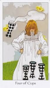 Dreaming Way Tarot Four of Cups