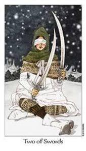 Dreaming Way Tarot Two of Swords
