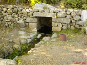 The Sacred Spring at Labranda (photo by Alan O'Flynn, John Dray 2005)
