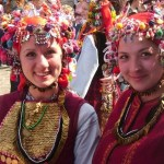 How is the cosmos perceived according to the Bulgarian folk belief?