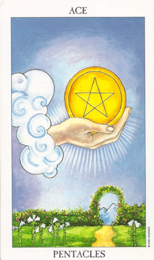 Ace of Pentacles Kundalini Surge