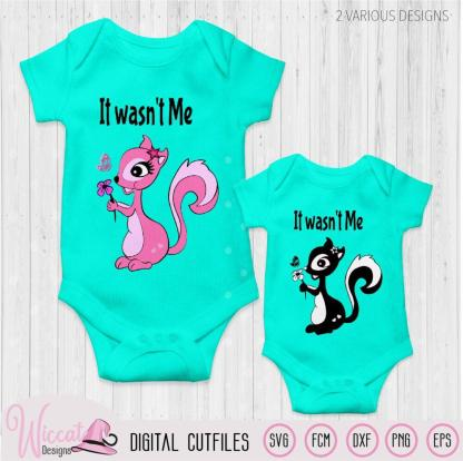 Girl Squirrel svg, Pink Skunk svg