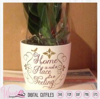 Home is a Feeling, Gratis snijbestand