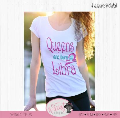 Queens are born Libra born in September or October