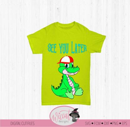 Alligator see you later, quote for boys
