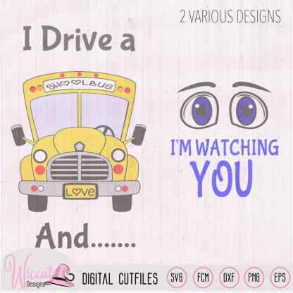 Busdriver, Back to school, Schoolbus svg,
