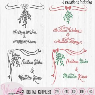 Christmas Mistletoe Wishes, glass block svg, Corner border, Mistletoe decal svg, dxf file, cricut svg, scanncut fcm, christmas decorationI try to design the files in a way that they are easy to use. This design is only 2 layers. You can use these files in the following programs; -Scal4, -Inkscape, -Illustrator, -Sure Cuts A Lot -Canvas (online)/ / (Workspace) -Silhouette Studio, -Cricut Design space -Make The Cut and any program that can read these extensions. This Digital file is for commercial and personal use see my terms at Terms of Use