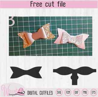 Hair Bow Pattern