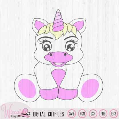 Cute Unicorn svg, Baby svg, Birthday svg, unicorn svg, fcm files, dxf file, Cricut svg, die cut, Scanncut, kids svg, iron on, Nursery svg