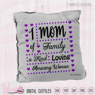 Mother Word pillow, momand mum included, Mother's day