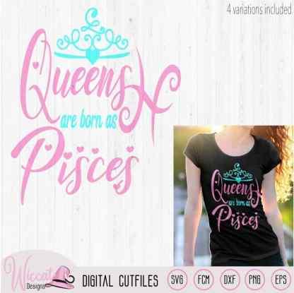 Zodiac Queens are born as Pisces