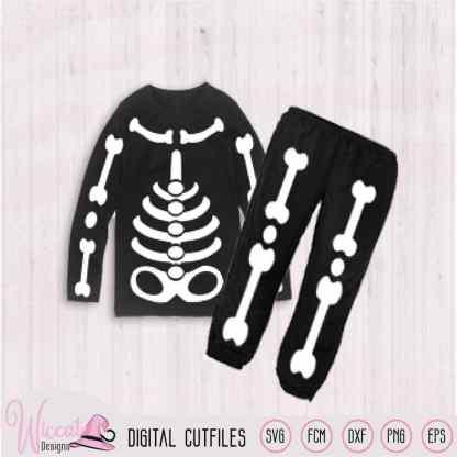 Kid skeleton costume Halloween