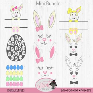 Easter bundle for kids, Easter bunny